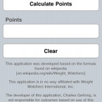 Points Calculator Screenshot 2