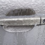 Iced Truck Handle